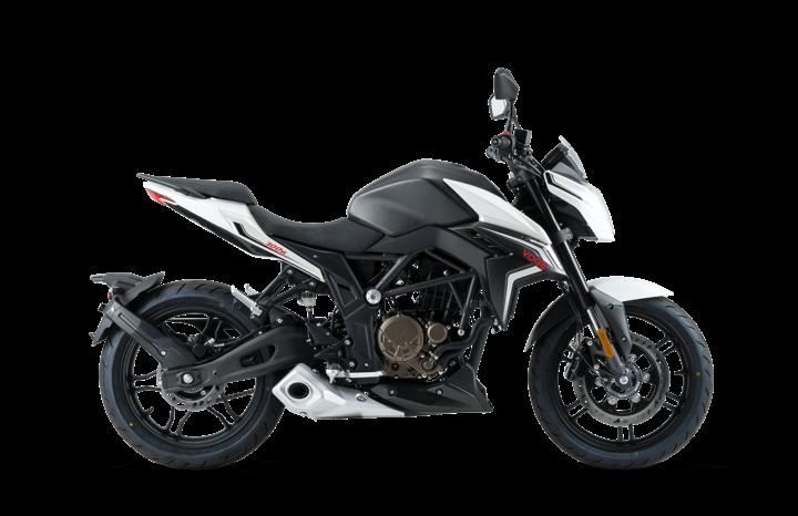 Voge Naked 300R weiß/ schwarz