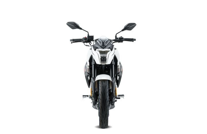 Voge Naked 300R – weiß voll