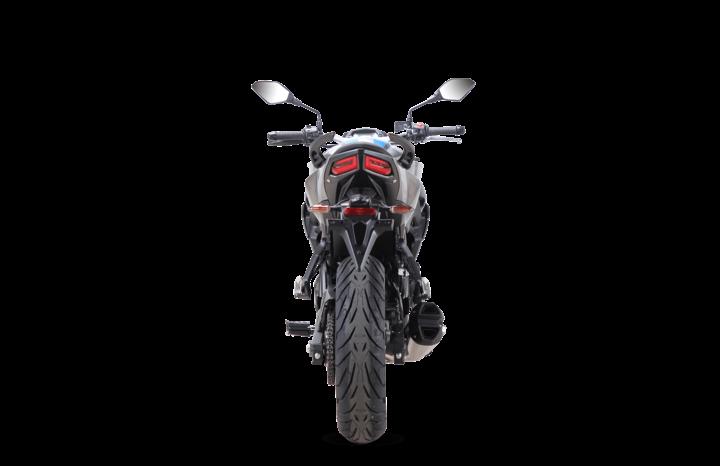 Voge Naked 500R – anthracite voll