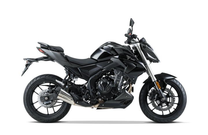 Voge Naked 500R - schwarz
