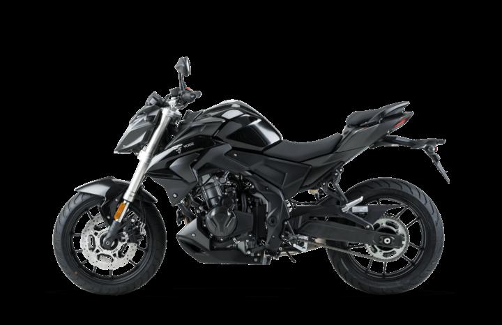 Voge Naked 500R – schwarz voll