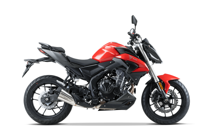 Voge Naked 500R – rot voll