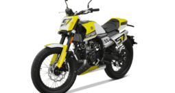 Mondial FLAT TRACK 125i ABS gelb