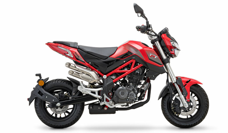 Benelli Tornado Naked T 125 - rot
