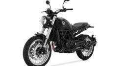 Benelli Leoncino 500 Trail – schwarz